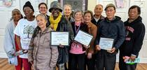 A group of Ambassadors for the Quality of Life Wellness Education Program for UC Delivers Blog