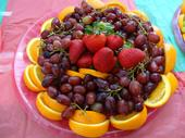 Participants learned to refrigerate cut fruit