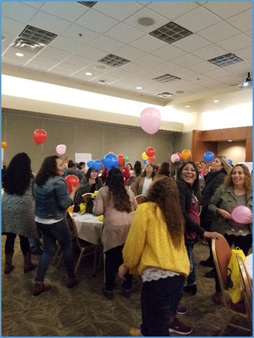 Participants enjoying CATCH activities in a fun and interactive way!