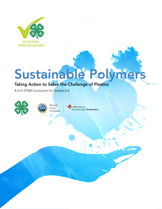 4-H Polymers curriculum cover for grades 6-8