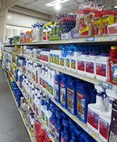 Pesticides on store shelves. [A. Schellman]
