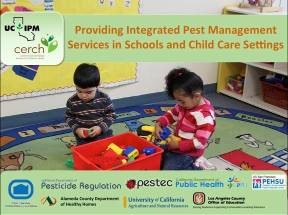 Child care title screen. Photo by K. Windbiel-Rojas