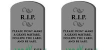 DPR illustration of gravestones for Pests in the Urban Landscape Blog