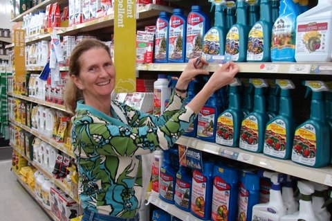 Retail employee for Pests in the Urban Landscape Blog