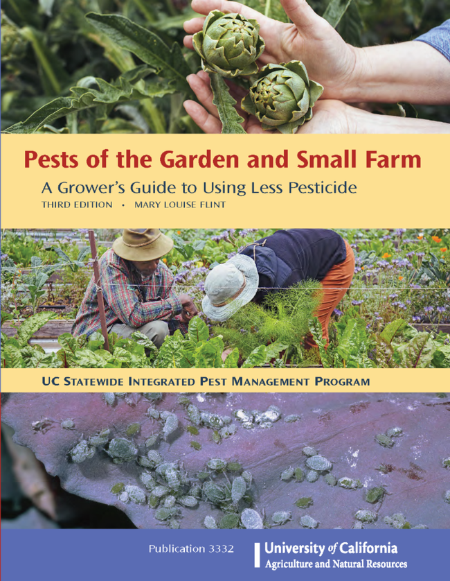 Pests of the Garden and Small Farm book cover