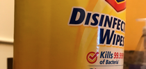 Figure 1. Disinfecting wipes contain different pesticide ingredients such as the ammonia compound shown here. for Pests in the Urban Landscape Blog