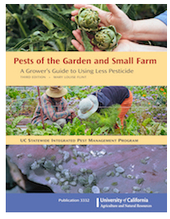 Book cover of Pests of the Garden and Small Farm
