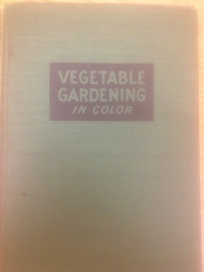 Garden book. (Photo by Ken Williams)