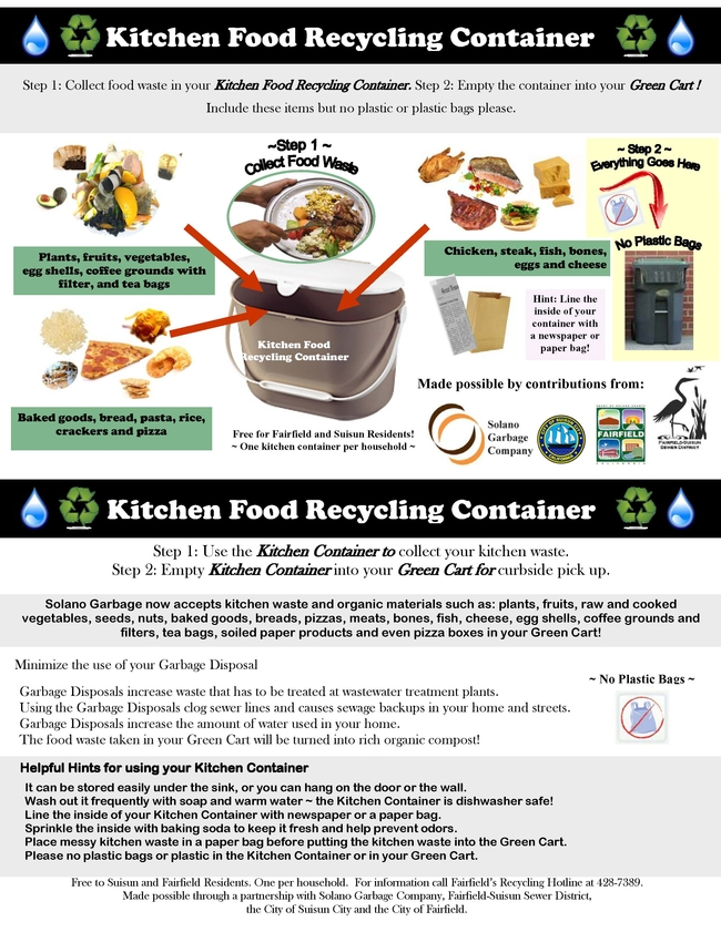 Kitchen Food Container Info