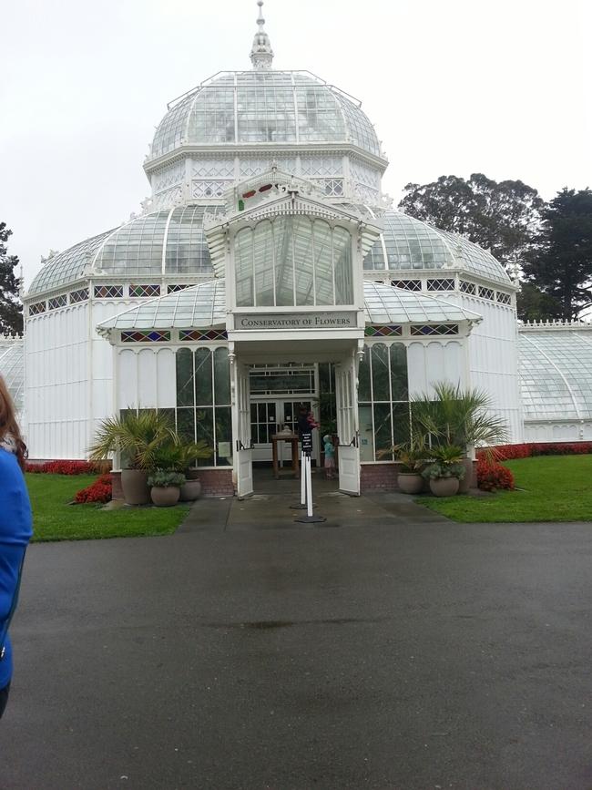The Conservatory. (photo by Cheryl Potts)