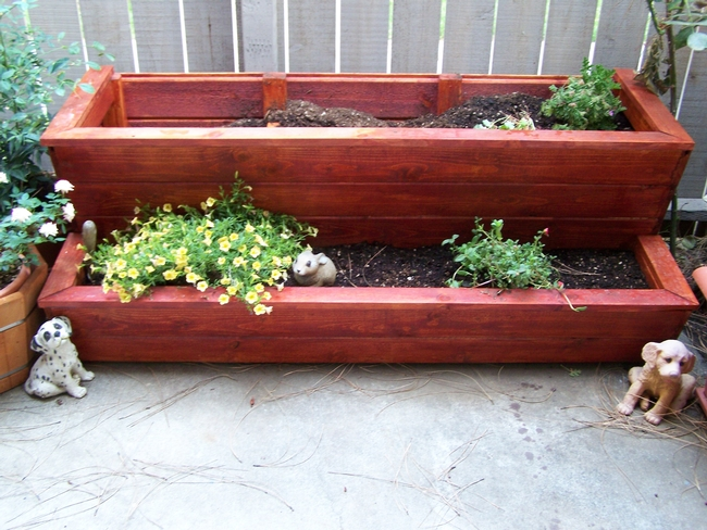 Planters. (photos by Tiffany Greer)