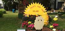 sc fair entryway garden2017 w signs for Under the Solano Sun Blog