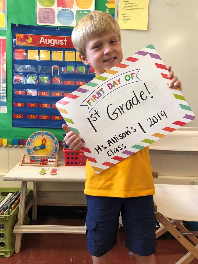ethan first grade 8-7-19