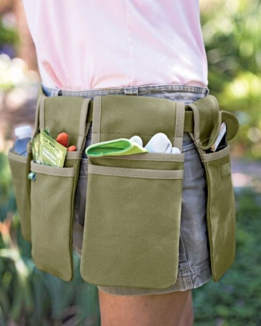 Gardener's tool belt by Gardener's Supply Company