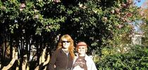 Mom and I, Run To Feed The Hungry in Sac (family photos provided by P. Pashby) for Under the Solano Sun Blog
