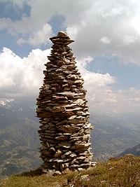 Tall rock spire