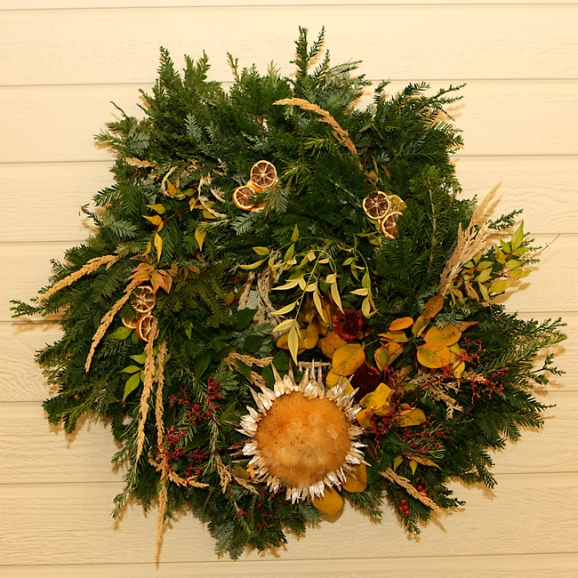 Wreath made by Marsha-our MG