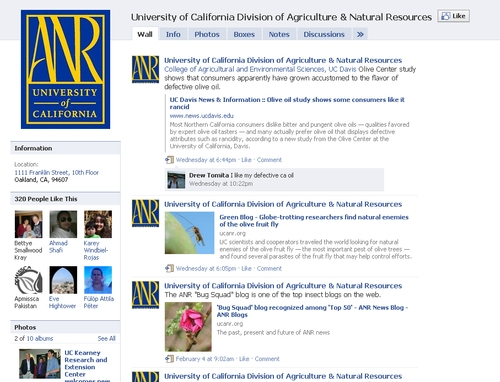 UC ANR page, BEFORE the changes
