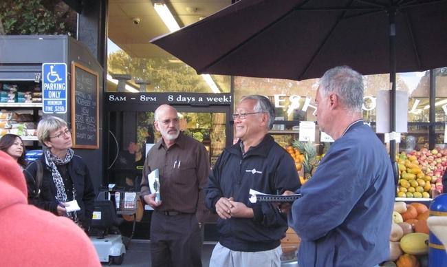 Veinticinco granjeros se reunieron con compradores de alimentos mayoristas