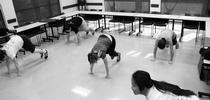 Las educadores de nutrición del condado de San Joaquín haciendo ejercicio después del trabajo. for Blog de Alimentos Blog