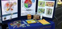 CalFresh de la UC muestra ejemplos de alimentos saludables en los platos. for Blog de Alimentos Blog