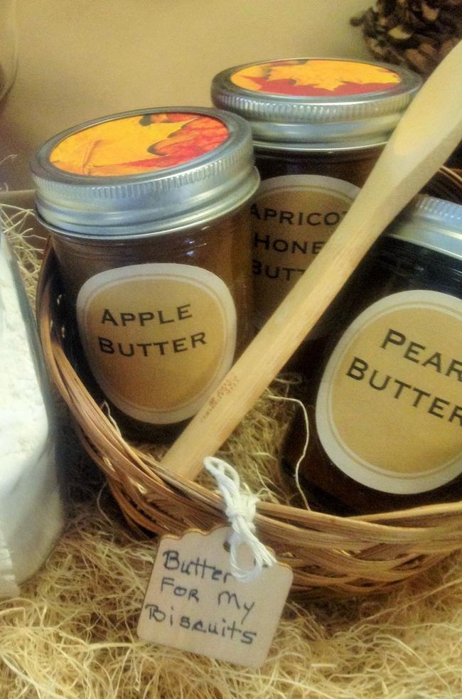 Una variedad de mantequillas puede ser un regalo perfecto para las fiestas decembrinas. Foto por: Sue Mosbacher