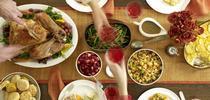 Una comida típica del Día de Acción de Gracias tiene más calorías de las que se necesitan para todo el día. (Foto por: Satya Murthy, Flickr) for Blog de Alimentos Blog