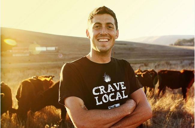 Guido Frosini, True Grass Farms. Foto de Janae Lloyd