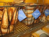Restaurante de bagels con el etiquetado de calorías