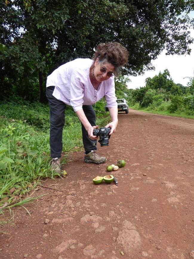 Mary Lu Arpaia documenta fotográficamente la morfología de los aguacates en Tanzania