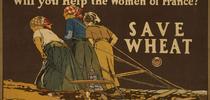 Este cartel jugó un importante papel en disuadir el desperdicio de alimentos y promover la conservación de los mismos en los hogares estadounidenses durante la Primera Guerra Mundial. El renombrado artista Edward Penfield fue el creador del cartel, que actualmente se encuentra en la División de Impresos y Fotografía de la Biblioteca del Congreso. for Blog de Alimentos Blog