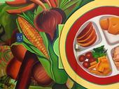 Un mural diseñado con el objetivo de inspirar a los niños a comer más frutas y verduras será develado en la escuela preescolar Burbank este 23 de febrero.