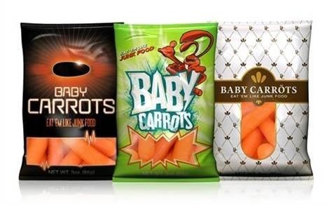 Dándole Otro Giro A Las Zanahorias Pequeñitas Blog De Alimentos