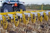 Strip tillage is one example of conservation agriculture.