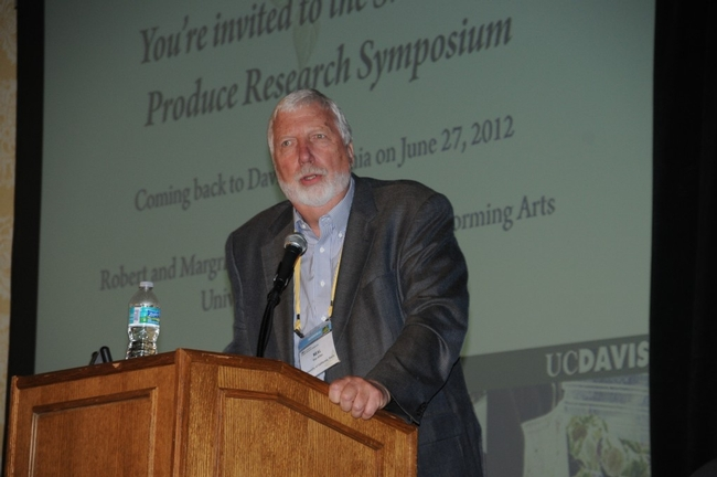 Neal Van Alfen (Photo: UC Davis Center for Produce Safety)