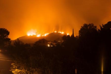 Climate change likely means more fire for the West.