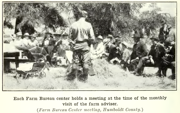California's first farm advisor.