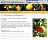 The UC ACP website, which provides information to farmers and home citrus growers at http://ucanr.edu/sites/acp.