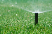 Sprinklers don't need to run after rainfall.