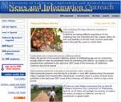 ANR News Web Site