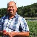 Berry grower Javier Zamora is one of the farmers featured in the new booklet, 'Fresh*Starts*Here'