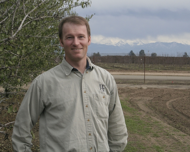 UC ANR almond advisor David Doll calls the drought a 'natural disaster.'