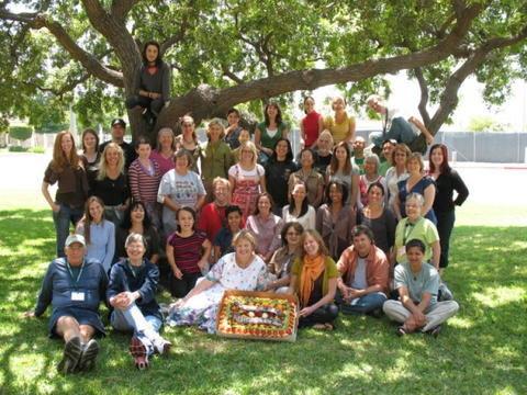 LA's 2008 Master Gardener graduates.