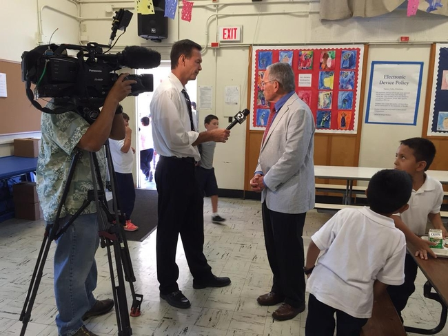 NPI's Kenneth Hecht shares information about the program with the reporter.