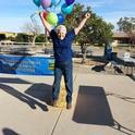 Nancy Caywood Robertson at the 2014 Farm Smart celebration.