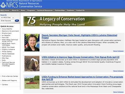NRCS Web site.