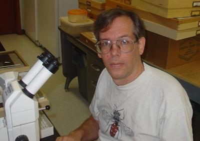 UC Riverside museum scientist Doug Yanega.