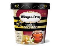 Honey Bee ice cream