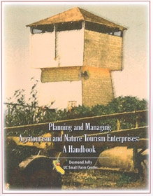 UC publication for farmers interested in agritourism.