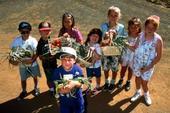School gardens can change eating behaviors.